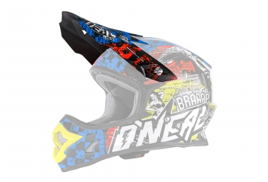 O'Neal Backflip RL2 Youth Evo Wild Spare Visor Multicolor