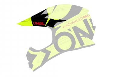 O'Neal Backflip RL2 Slick Spare Visor Yellow Black