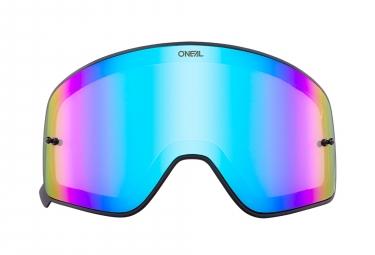 Ecran de Masque O'Neal B-50 Miroir Bleu
