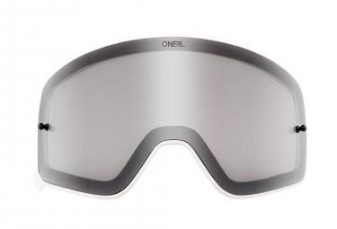 O'Neal B-50 Goggle Spare Lens White Frame Grey Lens