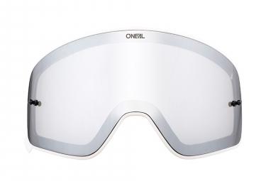 O'Neal B-50 Goggle Spare Lens White Frame Silver Mirror Lens