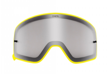 O'Neal B-50 Goggle Spare Lens Yellow Frame Grey Lens