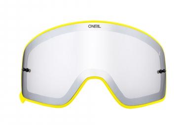 O'Neal B-50 Goggle Spare Lens Yellow Frame Mirror Silver Lens
