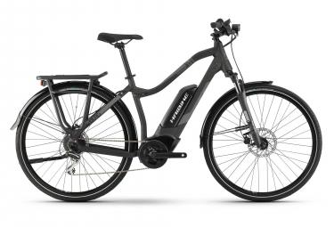 Bicicleta híbrida para mujer Haibike SDURO Trekking 1.0 2019 28 '' Shimano Altus 8s gris