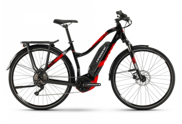 Bicicleta Híbrida Eléctrica Haibike SDURO Trekking 2.0 Femme 28'' Noir / Rouge