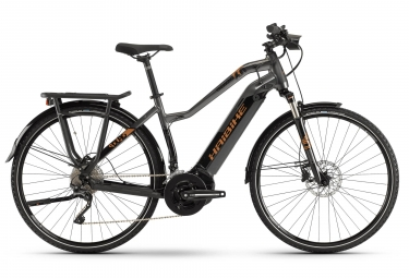 Haibike SDURO Trekking 6.0 Womens E-Bike  Noir / Gris