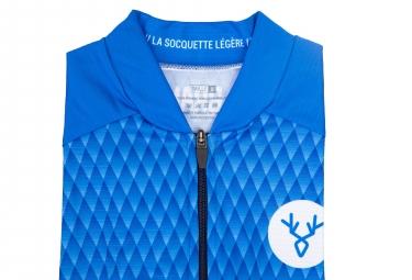 Maglia manica corta LeBram Grand Colombier Slim Fit Blue