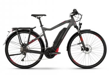 Haibike SDURO Trekking S 8.0 2019 Hybrid Touring Bike 28'' XT T8000 10v Grey Red