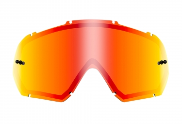 O'Neal B-10 Goggle Spare Double Lens Mirror Red