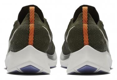 Nike Zoom Fly Flyknit Shoes Khaki Men