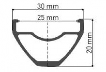 Rueda delantera DT Swiss HYBRID H1900 Spline 27.5 '' / 25mm | Impulso 15x110mm 2019