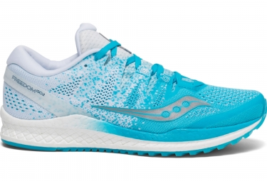 Image of Chaussures de running femme saucony freedom iso 2 bleu blanc 41