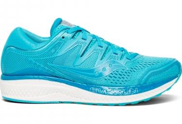 Zapatillas Saucony Hurricane ISO 5 para Mujer Azul / Blanco