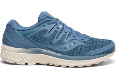 Zapatillas Saucony Guide ISO 2 Linear Shade para Mujer Azul / Beige