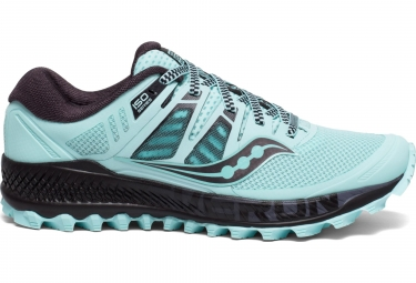 Saucony Peregrine ISO Running Shoes Aqua Grey