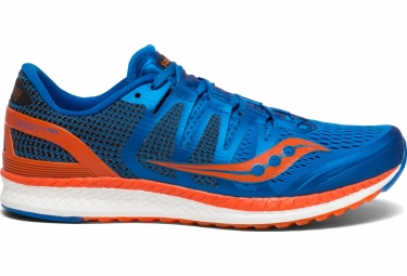 Saucony Liberty ISO Damen Laufschuhe Blau Orange