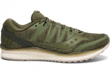 Saucony Freedom ISO 2 Running Shoes Khaki