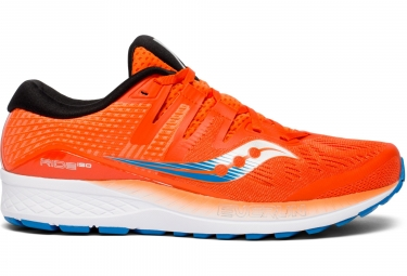 Saucony Ride ISO Running Shoes Orange Blue