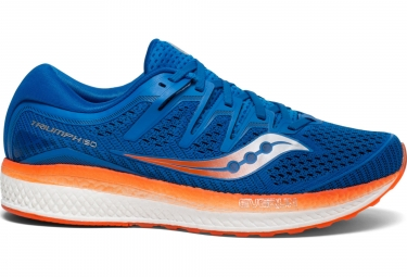 Saucony Triumph ISO 5 Running Shoes Blue Orange