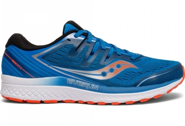 Saucony Guide ISO 2 Laufschuhe Blau Orange