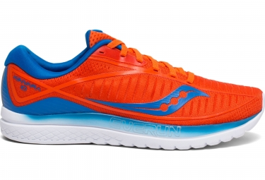 Chaussures de Running Saucony Kinvara 10 Orange / Bleu