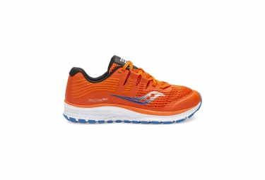 Saucony Ride ISO Running Shoes Orange Blue 35