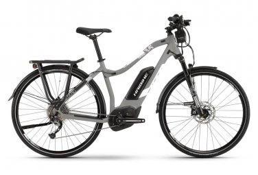 Bicicleta Híbrida Eléctrica Haibike SDURO Trek 3.5 Femme 28'' Gris