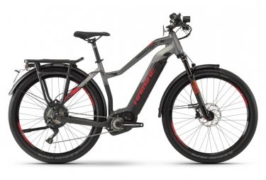 Bicicleta Híbrida Eléctrica Haibike SDURO Trekking S 9.0 Femme 28'' Gris