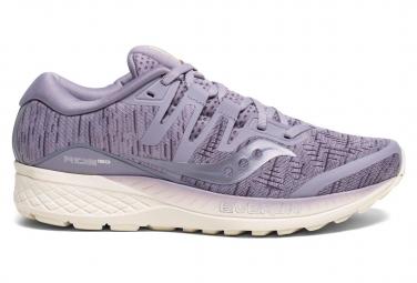 Saucony Ride ISO Women's Running Shoes Purple Shade