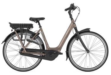 Vélo de Ville Électrique Femme Gazelle Grenoble C7+ HMB Shimano Nexus 7V 300 Beige 2019