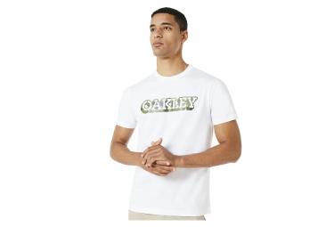 Oakley Camou T-Shirt White Khaki