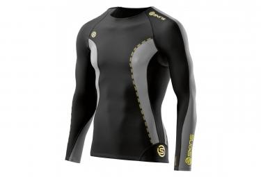 Maillot thermique de compression skins dnamic noir gris xl