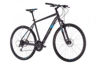 Cube Touring Bike Nature Shimano Mixt 8s Iridium Negro / Azul 2019