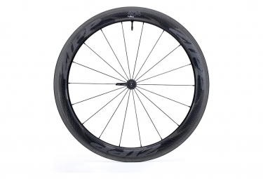 Roue avant zipp 404 nsw carbon tubeless 9 12 15x100mm blanc