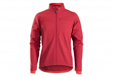 Giacca Bontrager Circuit Softshell Rosso