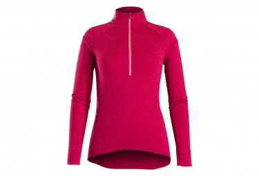Maillot Manches Longues Bontrager Vella Thermal Rose