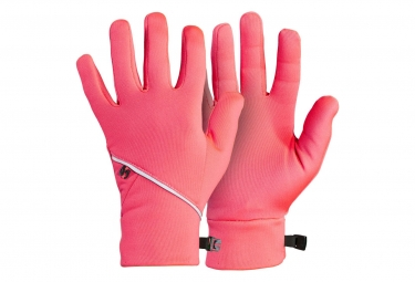 Bontrager Vella Thermal Gloves - Rose