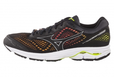 MIZUNO WAVE RIDER 22 Oska Black Multi-coulor Men