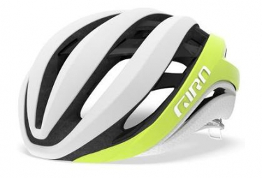 GIRO AETHER MIPS Helmet Matte White Yellow