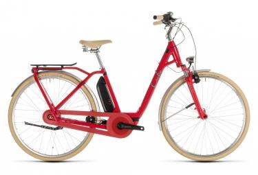 Urban E-Bike Cube Elly Cruise Hybrid 400 Entrada fácil Shimano Nexus 7s Red 2019