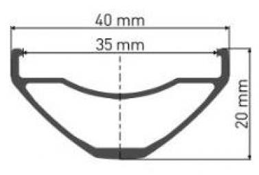 Rueda trasera DT Swiss M1900 Spline 27.5 '' / 35mm   12x142mm   Sram XD 2019