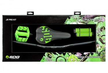 SDG Jr Pro Kit Upgrade Kit Neon Green for Kids Bike