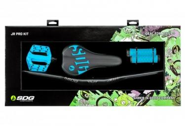SDG Jr Pro Kit Upgrade Kit Cyan Blue for Kids Bike