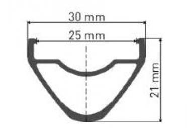 Rueda delantera DT Swiss HX1501 Spline One 27.5 '' 25mm | Impulso 15x110mm 2019