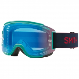 Masque smith squad mat noir bleu rouge bleu