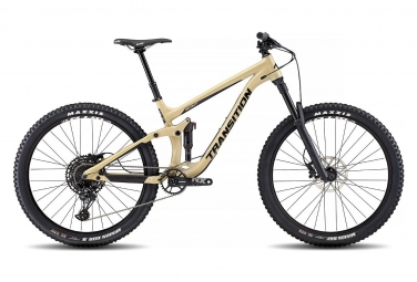 Velo tout suspendu transition scout alu 27 5 sram nx eagle 12v desert tan 2019 l 175