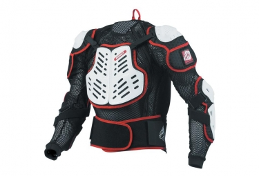 Gilet de protection kenny performance noir blanc s