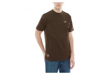 T-Shirt Manches Courtes Vans X Independent Dual Logo Marron