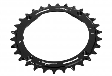 Race Face Narrow Wide Single Chainring 104mm BCD Red