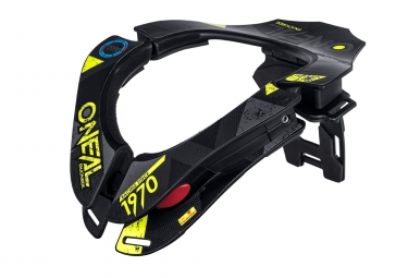 O'Neal Tron Neckbrace Black Yellow